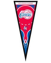 "Los Angeles Clippers 13"" x 33"" Framed Pennant - $38.95"