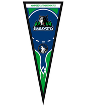 "Minnesota Timberwolves 13"" x 33"" Framed Pennant - $33.11"