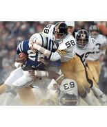JACK LAMBERT & ERNIE HOLMES 8X10 PHOTO PITTSBURGH STEELERS PICTURE NFL F... - $3.95