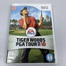 Tiger Woods PGA Tour 10 (Nintendo Wii, 2009) Golf Complete w/ Case & Manual CIB - $14.49