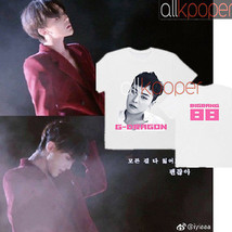 KPOP Bigbang T-shirt Concert Tshirt G-Dragon Casual Tee TOP DAESUNG 2017... - $9.99