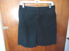 """Womens Merona Size 6 Fit 1 Black Shorts """" BEAUTIFUL PAIR """" - $11.29"""