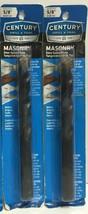 """(New) Century Drill & Tool 86440  5/8"""" x 4-1/4"""" x 6"""" Masonry Drill Bit L... - $20.78"""