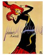 Toulouse Lautrec Jane Avril Vintage Art Print - $12.95