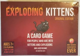EXPLODING KITTENS Original Edition Card Game - New and Sealed!!! - $19.79