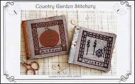 Holiday Seasons: Autumn Winter cross stitch chart Country Garden Stitchery - $6.30