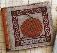 Holiday Seasons: Autumn Winter cross stitch chart Country Garden Stitchery