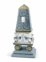 Lladro Retired 01008464 RENAISSANCE OBELISK BOX (platinum) 8464 Brand New - $1,107.85