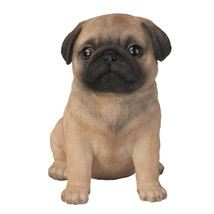 6.5 inches Pug Puppy Figurine Statues Collectible - $16.82