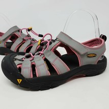 Keen Newport Womens Gray Pink Sandals Shoes Outdoor Hiking Trail Water Size 6 - $38.61