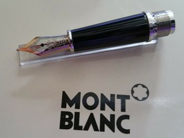 Replacement spare Parts  Pen Nib 14K Platinum Trim Montblanc for144 Foun... - $93.56
