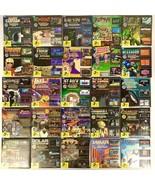 """VTG PC EGA VGA DOS 25 Game Lot 3.5"""" Floppy Discs Commander Keen + More S... - $399.99"""