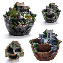 Office Home Decoration Vintage Flower Pot Garden Plant Mini Succulent Pl... - ₹1,789.83 INR