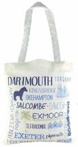 Evans Lichfield Made in UK 100% Cotton Tasche Tuch Einkaufstasche Devon - $6.83