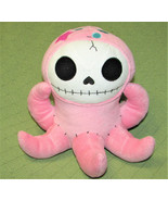 "FURRY BONES Pink Octopus OCTOPEE Plush Stuffed Skeleton in Costume 9"" Su... - $18.22"