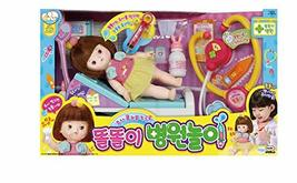 Mimiworld Toritori Tears Drop Girl Toy Doll Hospital Medical Clinic Doctor Injec