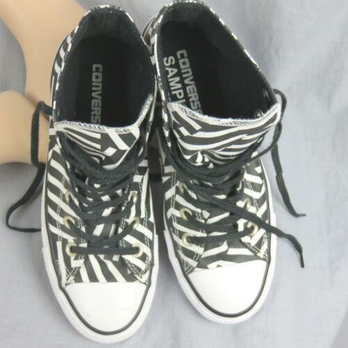 Converse Tout Étoile Chuck Tailleur Géométrique Rayé Échantillon Shoes Hommes 6 image 6
