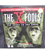 THE X FOOLS Interactive CD-ROM and Online Comedy Games NIB 1997 RARE - $24.96