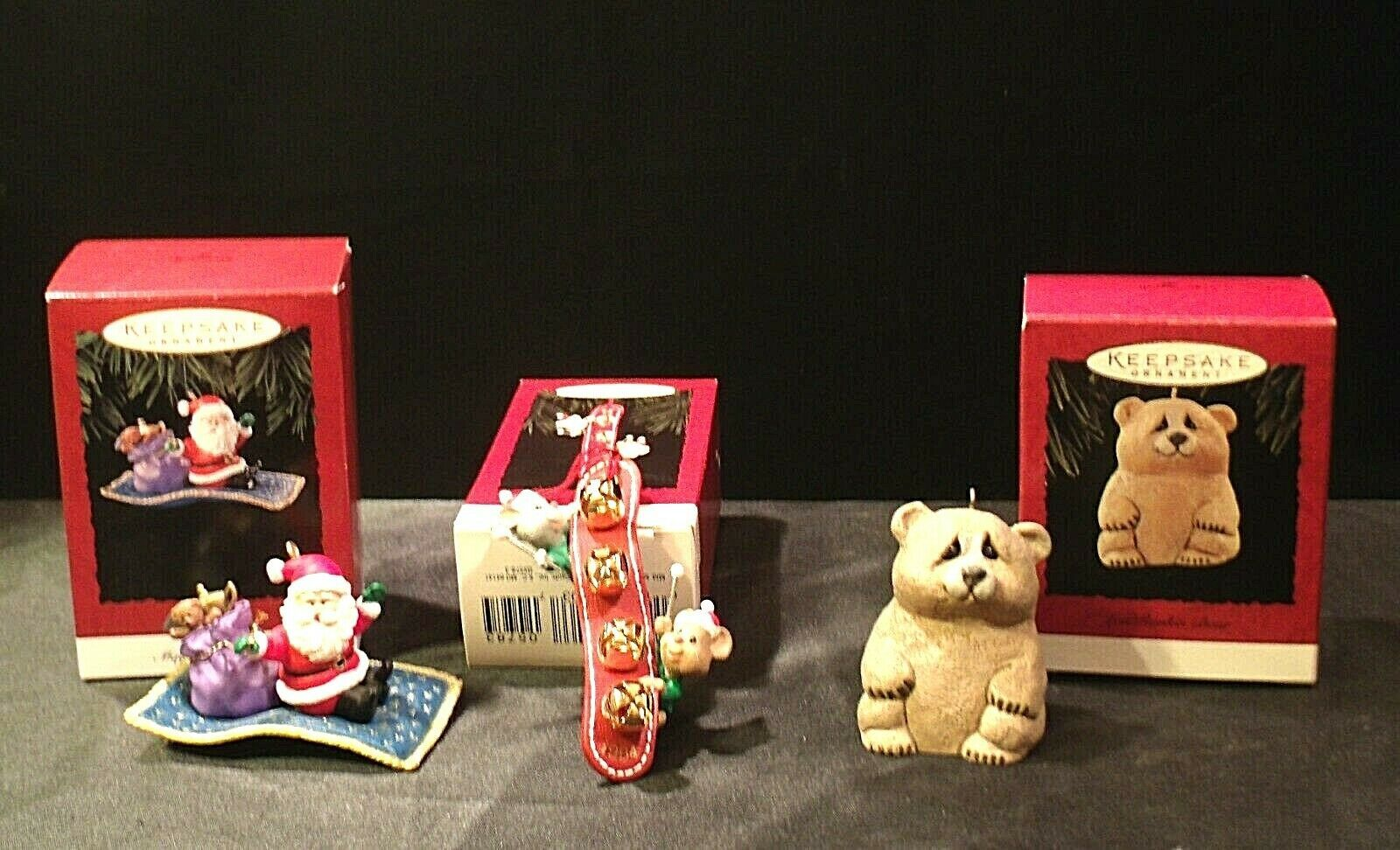 Hallmark Handcrafted Ornaments AA-191771D Collectible   ( 3 pieces )