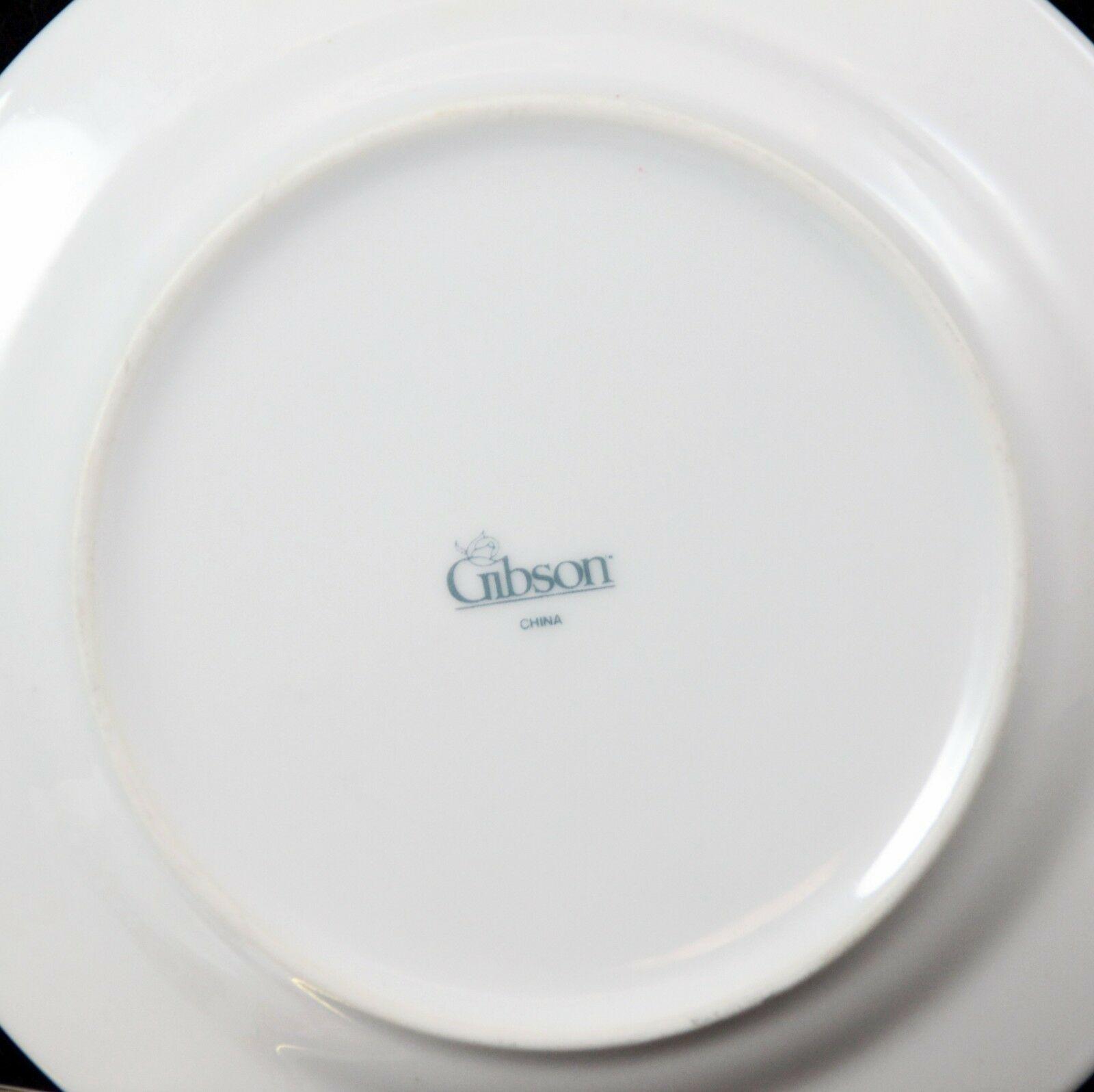 "Gibson Windsor Salad Plates 7.75"" Lot of 6 image 5"
