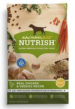 Rachael Ray Nutrish Natural Dry Dog Food, Real Chicken & Veggies Recipe,... - $21.99