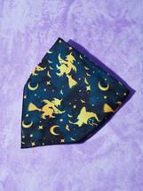 Halloween Witch Print Pet Bandana, Dog bandanas, Cat bandanas, Pet gifts - $13.60