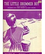 The Little Drummer Boy [Sheet music] [Jan 01, 1958] - $13.57