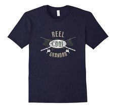 Your Shirt--Mens Reel Cool Grandad Shirt, Cute Fishing Father's Day Gift... - $17.95+