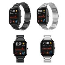 Stainless Steel Wrist Strap Watch Band for Xiaomi Huami Amazfit GTS/GTR ... - $13.55