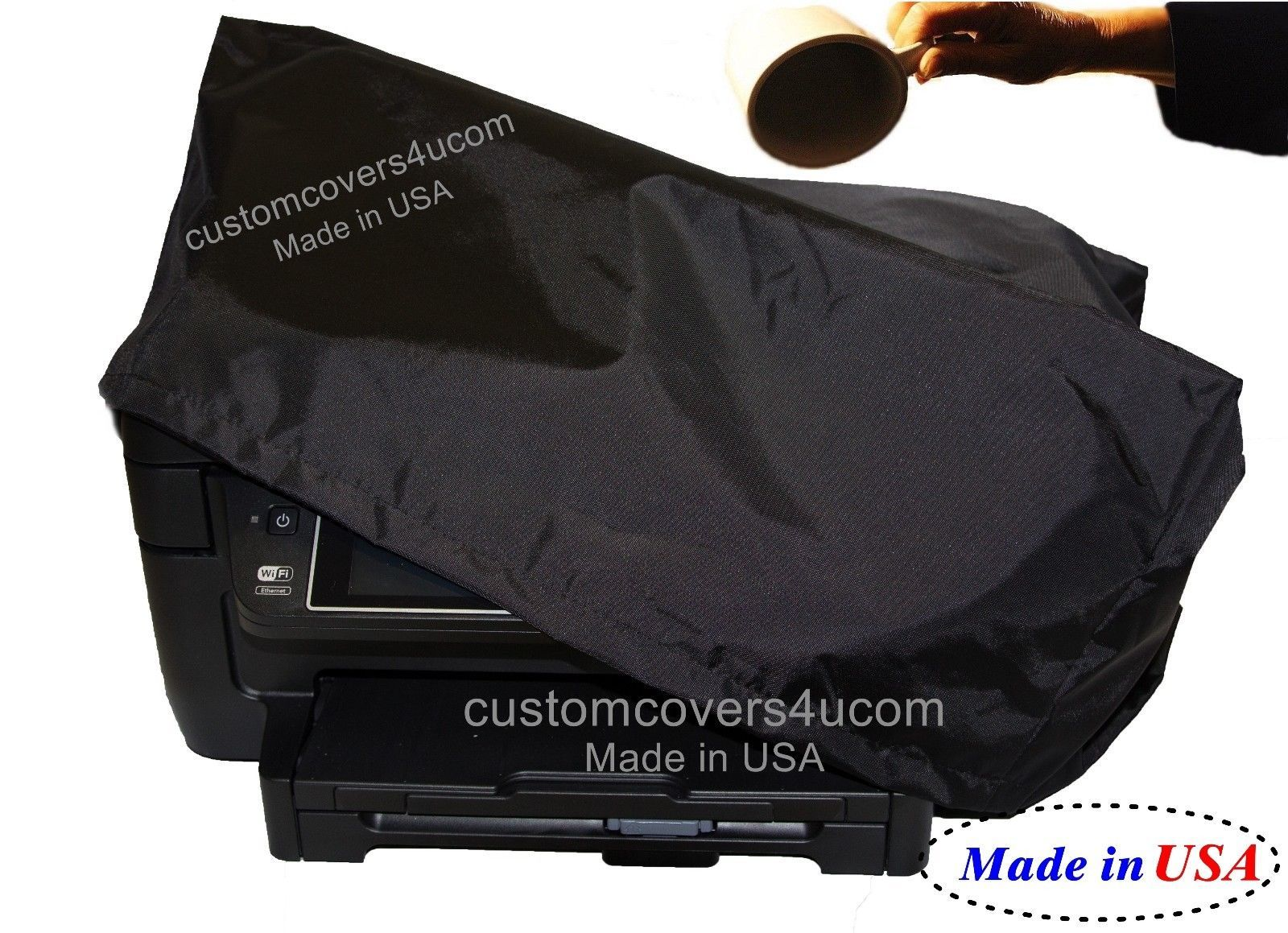 Primary image for Brother MFC-7860DW PRINTER BLACK NYLON DUST COVER WATER REPELLENT !