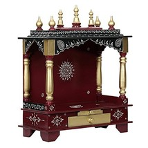 Festivals Home Temple, Wooden Temple, Pooja Mandir  - $307.39