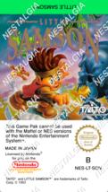 Little Samson - NINTENDO NES Reproduction/Replace Label Precut - $4.90