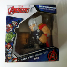 Marvel Avengers Thor Clutch For Pop Attack Clutch N Pop with 3 foam balls - $11.22