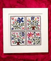 Baltimore Design cross stitch chart Bobbie G Designs - $5.40