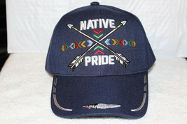 INDIAN ARROW NATIVE PRIDE FEATHER NATIVE AMERICAN BASEBALL CAP HAT ( DAR... - $11.75