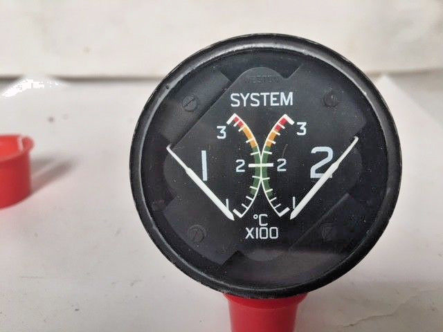 Primary image for Aircraft Cockpit System Temperature Gauge S216-1-134K 28V EX-MOD