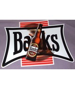 Banks Barbados Brewery Advertising Peel Off Sign  - $11.99