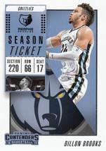 Dillon Brooks 2018-19 Panini Contenders Card #70 - $0.99