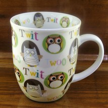 Creative Tops Whimsical Owls It's a Hoot Porcelain Coffee Mug - $18.76