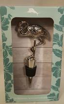 Flamingo Wine Bottle Stopper Tommy Bahama Fashion Tropical Bird Designer - $14.84
