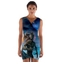 tunic top wrap gotg groot rocket racoon sleeveless cosplay sexy unique print  - $36.00 - $42.00