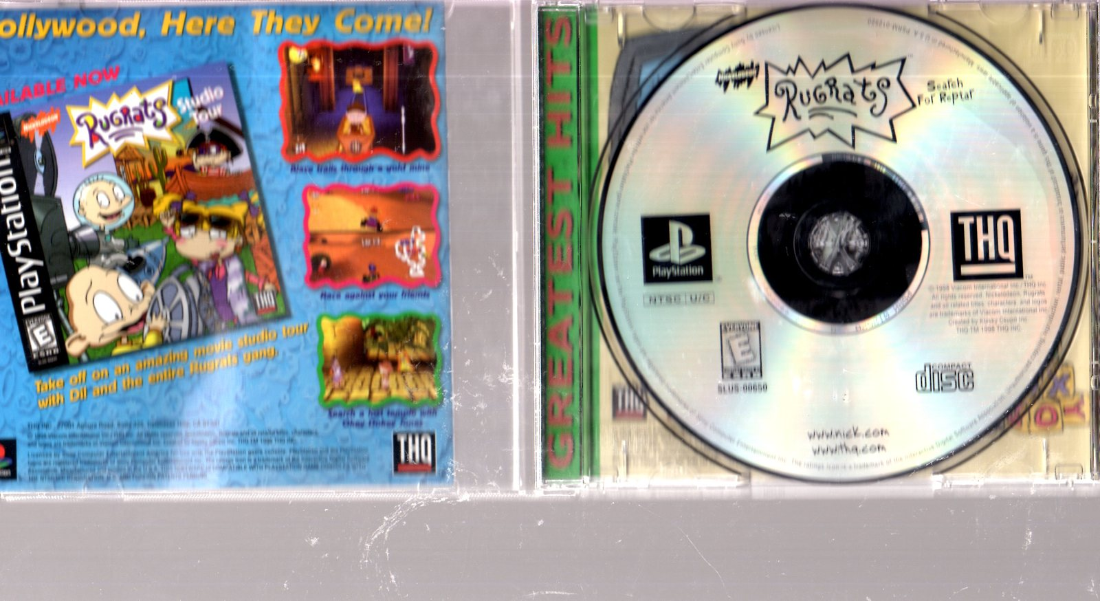 PlayStation (Greatest Hits)  Rug Rats -Search for Reptar