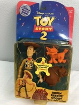 Toy Story 2 Ropin' Rescue Woody Action Figure 1999 Mattel - $34.65