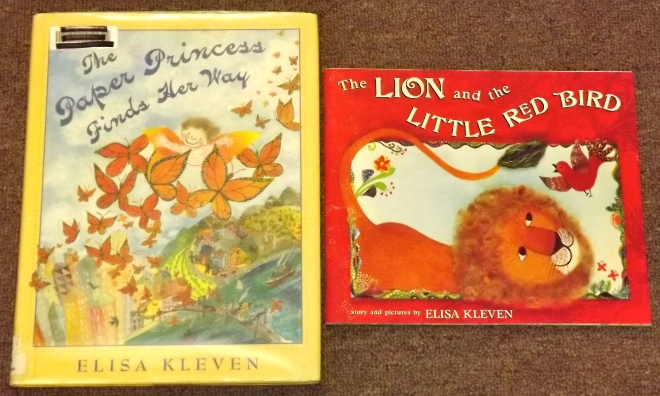 The Paper Princess Finds Her Way, The Lion and the Little Red Bird Elisa Kleven
