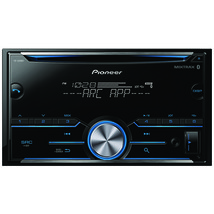 Pioneer Double-din In-dash Cd Receiver With Bluetooth PIOFHS500BT - $169.12