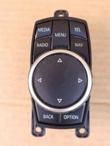 BMW E92 E93 E60 E63 E64 X1 X5 X6 iDrive Navigation Control Switch Jog Wheel image 1