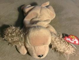 TY Beanie Baby SPUNKY DOG PUPPY PLUSH STUFFED ANIMAL Retired babies  - $4.94