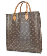 Authentic Louis Vuitton Sac Plat Monogram Tote Shopping Bag Purse #39139 - $459.00