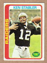 1978 Topps #365 Kenny Stabler Oakland Raiders NM Near Mint cond - $5.60