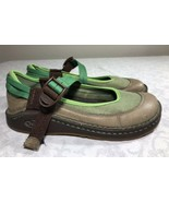 Chaco Sandals Loyalist Mary Jane Shoes Women's 7 Green Sport Slides Strap - $29.99